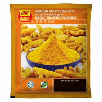 Babas Serbuk Kunyit (Turmeric Powder) 125gm