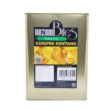 Kerepek Kentang Rumpai Laut (Seaweed Potato Chips)