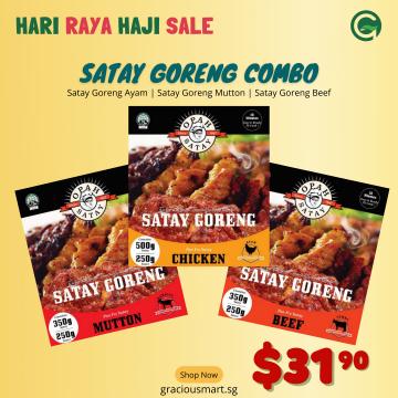 Satay Goreng Combo