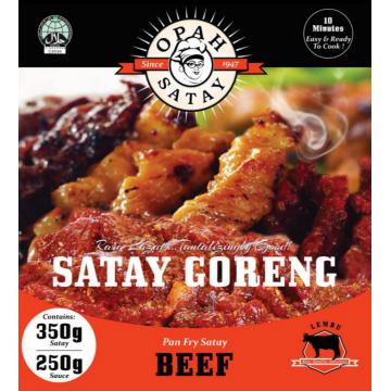 OPAH Satay Goreng Daging Lembu