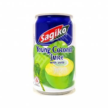 Sagiko Young Coconut Juice 350ml x 24
