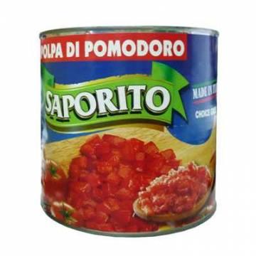Saporito Diced/ Chopped Tomato