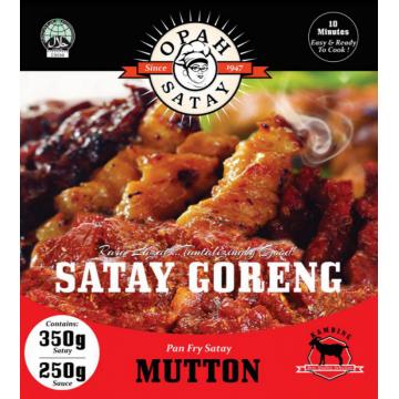 OPAH Satay Goreng Daging Kambing
