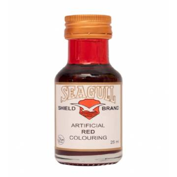 Seagull Shield Brand Artificial Red coloring